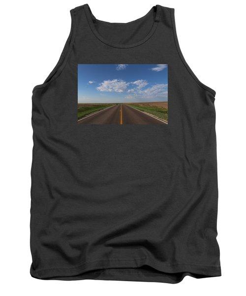 Kansas Road Tank Top by Suzanne Lorenz