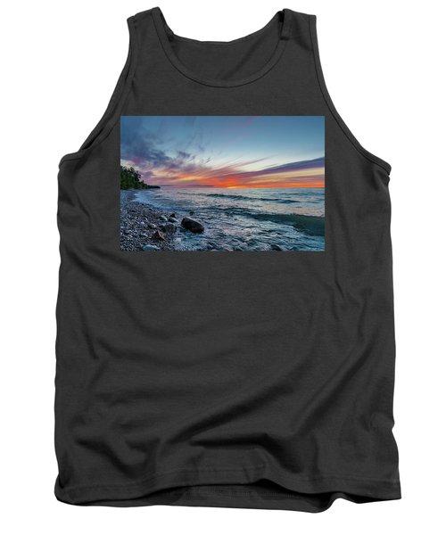 Lake Superior Sunset Tank Top