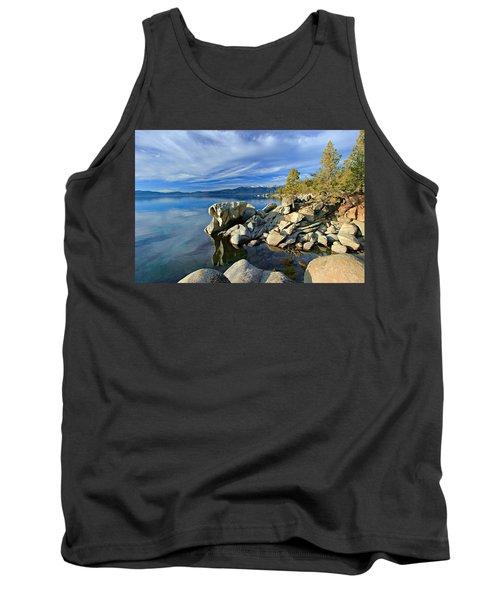 Lake Tahoe Rocks Tank Top