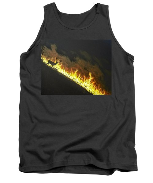 Tank Top featuring the painting Last Look Back Home by Kevin Daly