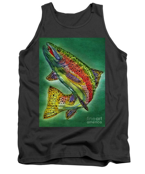 Leaping Trout Tank Top