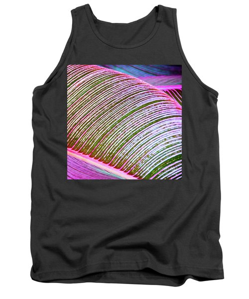Leaves In Color  Tank Top