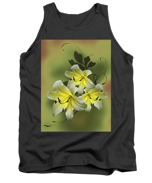 Lily Trio Tank Top by Judy Johnson
