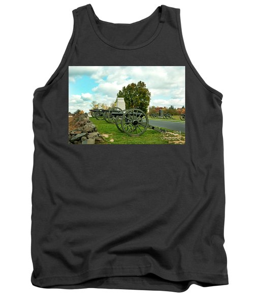 Tank Top featuring the photograph Line Of Fire by Paul W Faust - Impressions of Light