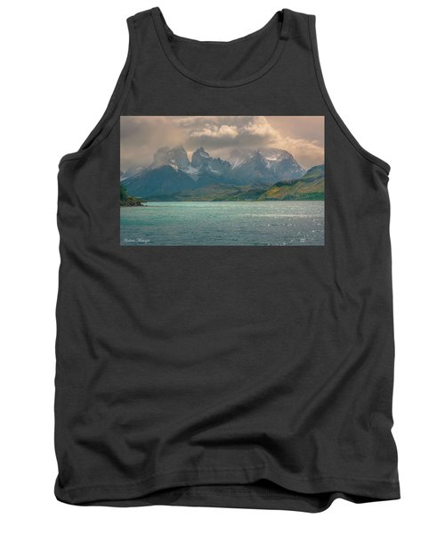 Tank Top featuring the photograph Los Cuernos  by Andrew Matwijec