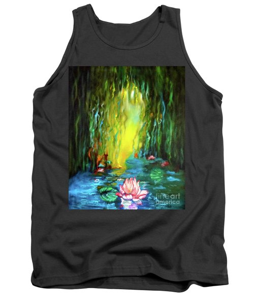 Lotus And Lily Pads Tank Top