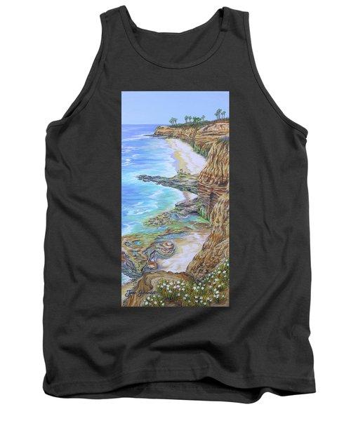 Low Tide Sunset Cliffs Tank Top