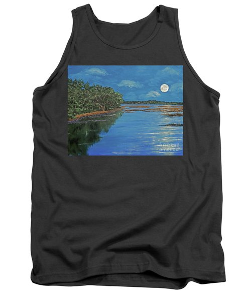 Lowcountry Moon Tank Top