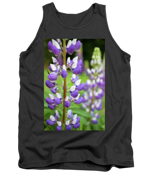 Tank Top featuring the photograph Lupine Blossom by Robert Clifford
