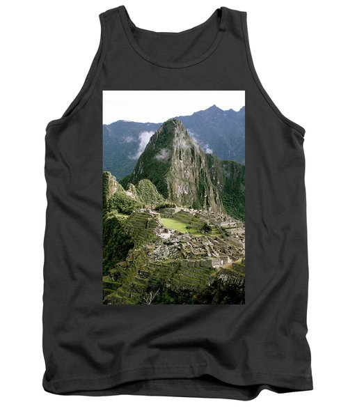Machu Picchu At Sunrise Tank Top