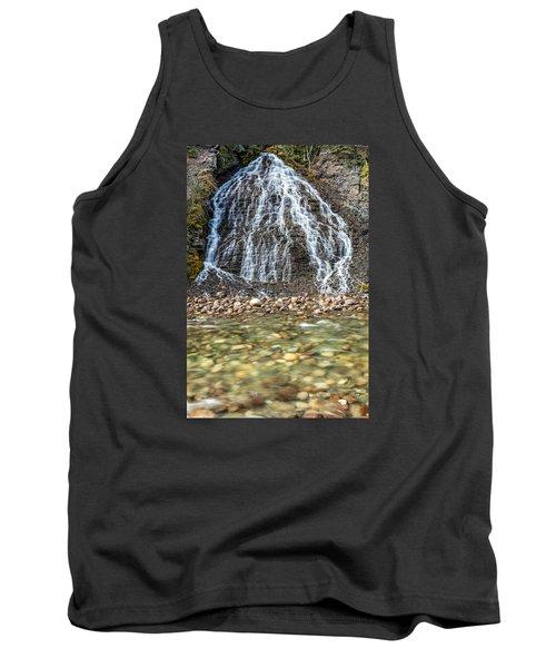 Cascades Of Maligne Canyon Tank Top