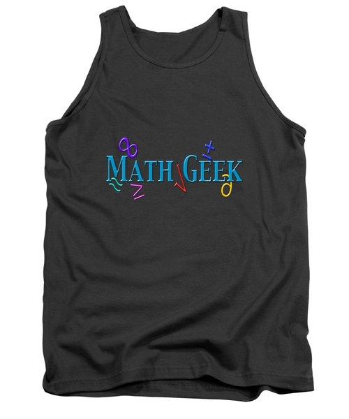 Math Geek Tank Top by Bill Owen