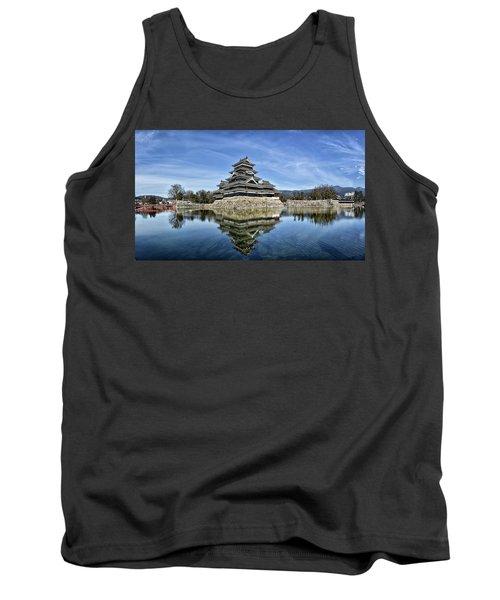 Matsumoto Castle Panorama Tank Top