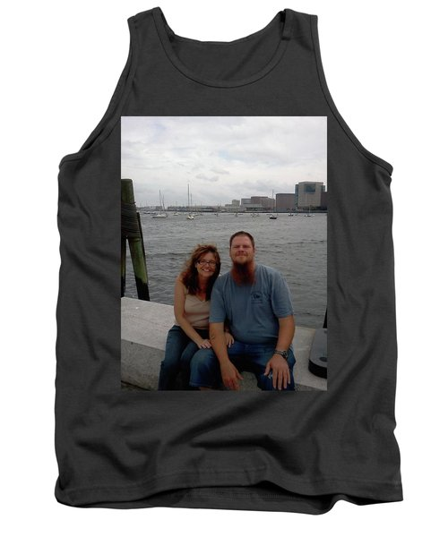 Tank Top featuring the photograph me by Richie Montgomery