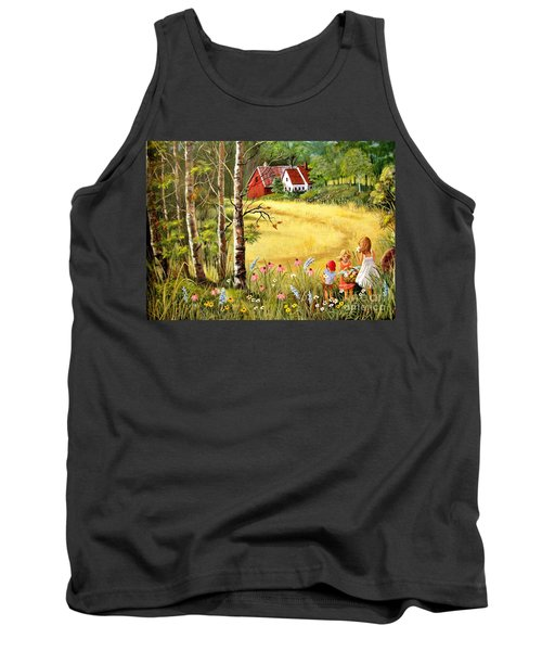 Memories For Mom Tank Top by Marilyn Smith