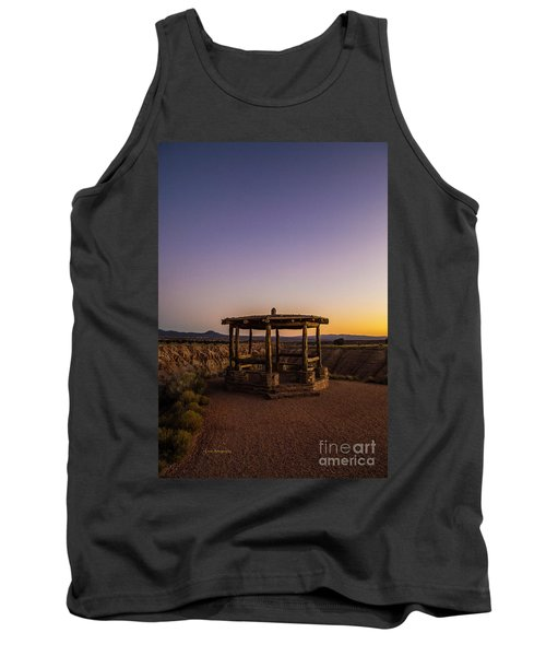 Cathedral Gorge Gazebo Tank Top