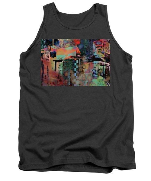 Minneapolis Collage Tank Top
