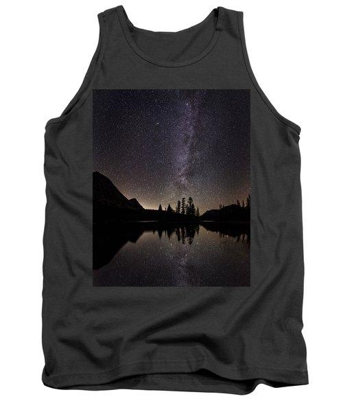 Mirror Lake Milky Way Tank Top