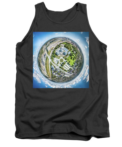 Tank Top featuring the photograph Mitchell Park Domes by Randy Scherkenbach