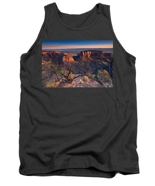 Morning At Colorado National Monument Tank Top