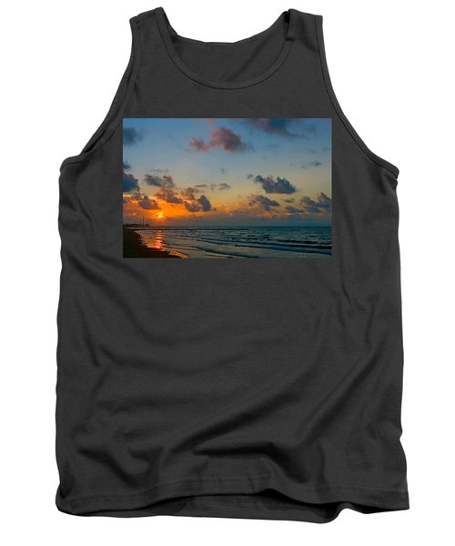 Morning On The Beach Tank Top
