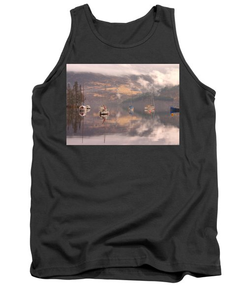 Morning Reflections Of Loch Ness Tank Top