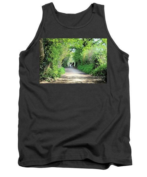 Tank Top featuring the photograph Morning Walk by Katy Mei