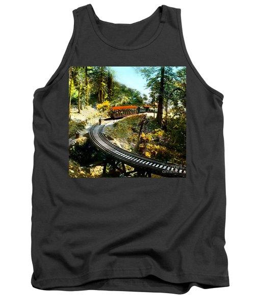 Mount Tamalpais Railway In The 1890s California Tank Top