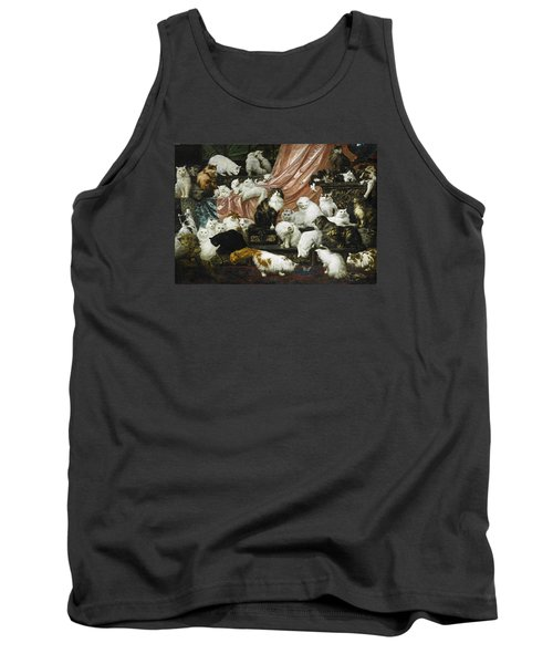 My Wife's Lovers Tank Top by Carl Kahler