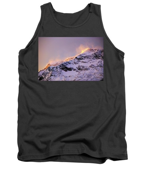 mystery mountains in North of Norway Tank Top