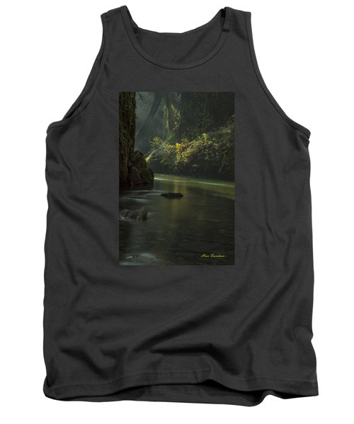 Mystical Canyon Signed Tank Top