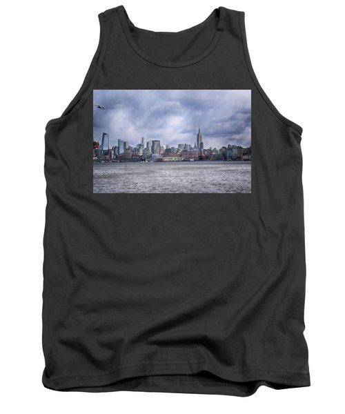 New York Skyline Tank Top by Dyle Warren