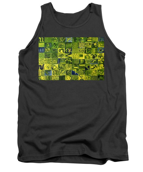 Night On The Lawn Tank Top by Patricia Cleasby