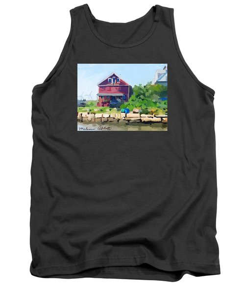 North Shore Art Association At Reed's Wharf Tank Top