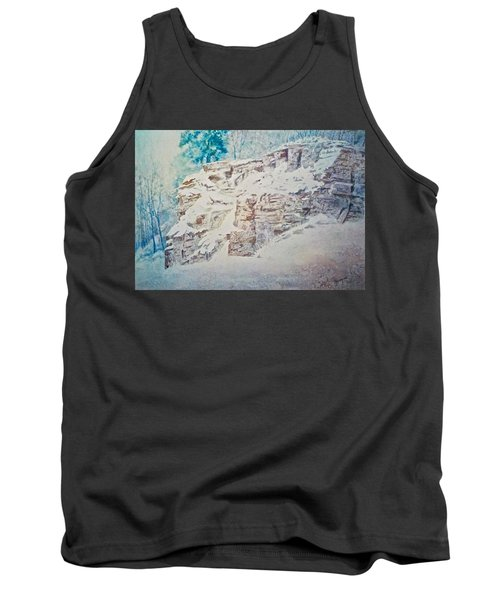 Tank Top featuring the painting Oakfield Ridge by Carolyn Rosenberger