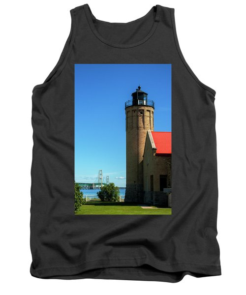 Old Mackinac Point Lighthouse Tank Top