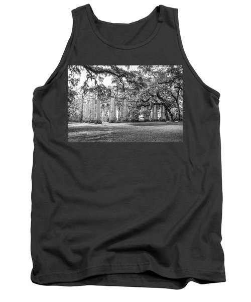 Old Sheldon Church - Tree Canopy Tank Top