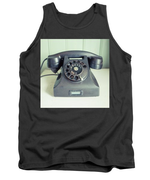 Old Telephone Square Tank Top