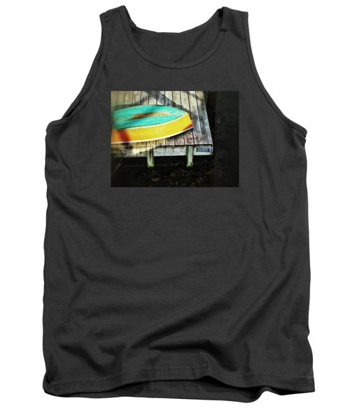 Tank Top featuring the photograph On Deck by Olivier Calas