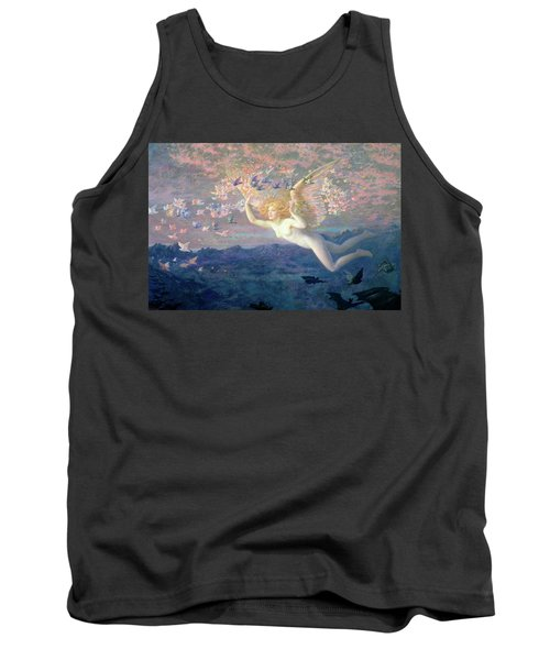 On The Wings Of The Morning Tank Top