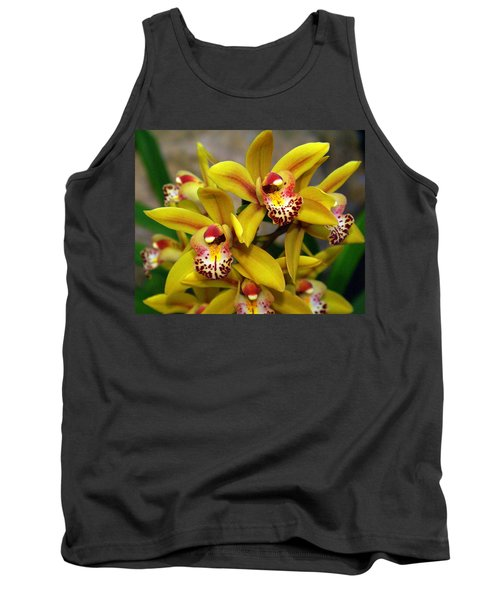 Orchid 9 Tank Top by Marty Koch
