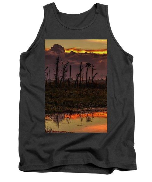 Orlando Wetlands Sunrise Tank Top
