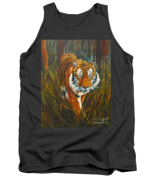 Out Of The Woods Tank Top by Beatrice Cloake