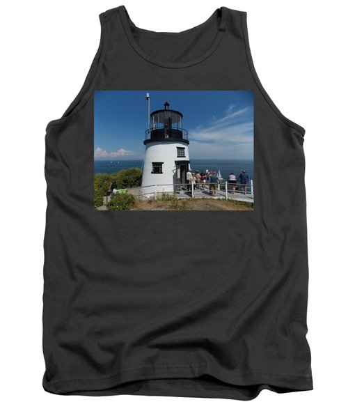 Owls Head Light Tank Top