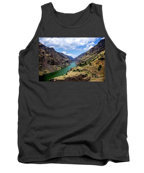 Oxbow Dam Tailwater Idaho Journey Landscape Photography By Kaylyn Franks  Tank Top