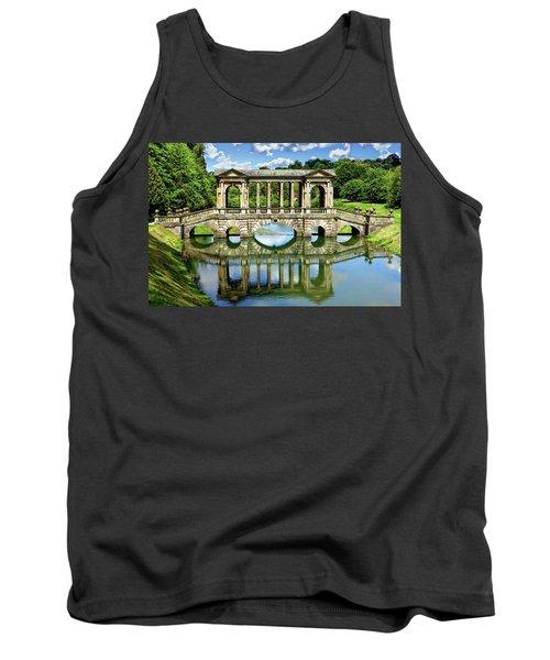 Palladian Bridge Nature Scene Tank Top