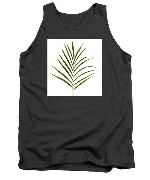 Palm Leaf Tank Top by Tony Cordoza