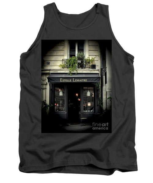 Parisian Shop Tank Top by Karen Lewis