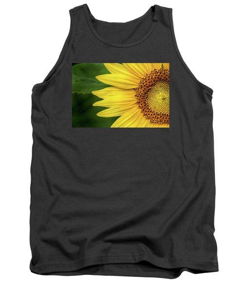 Partial Sunflower Tank Top