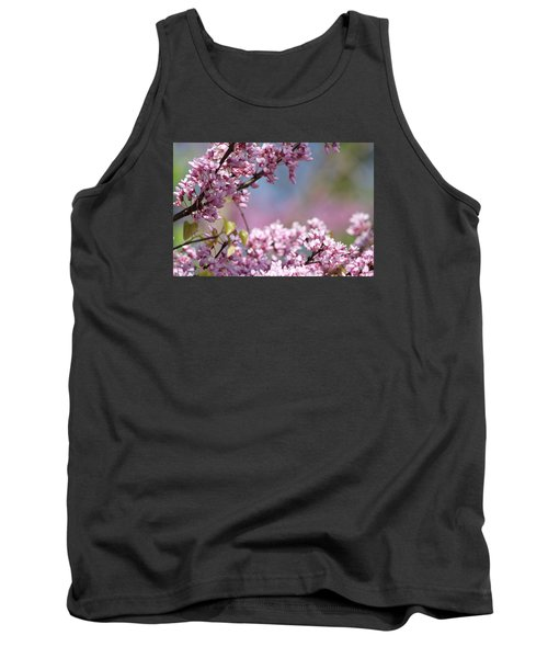Pastel Blossoms Tank Top by Michele Wilson